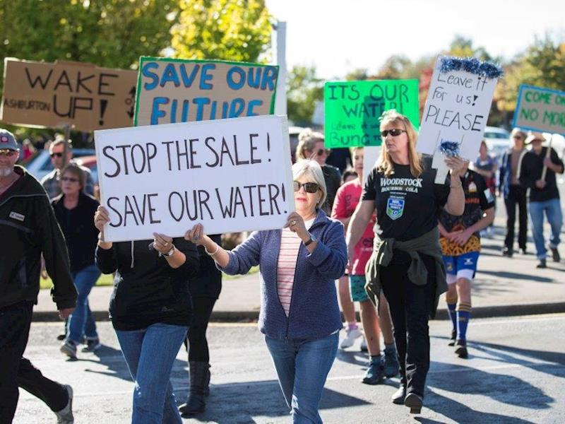 New Zealand Government Secretly Funded Water Bottling Companies