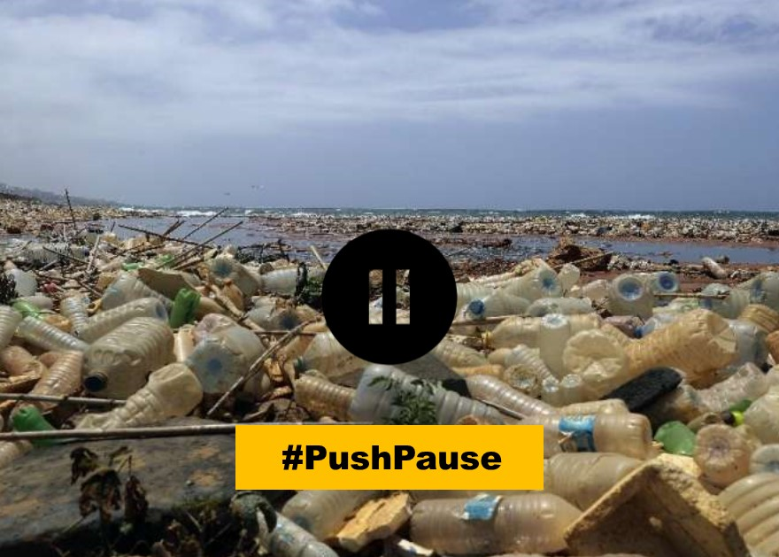 Push pause on water bottling